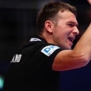 Nicht unzufrieden mit dem Hauptrunden-Abschluss seines Teams: Bundestrainer Christian Prokop in Wien