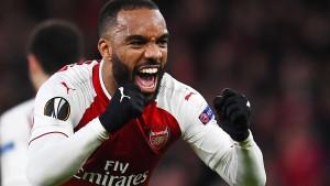 Arsenal gut aufgelegt