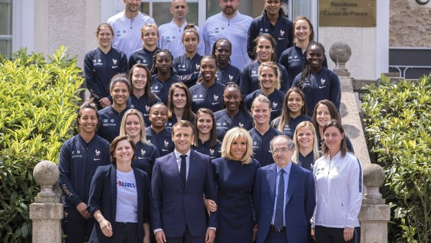Große Erwartungen bei Frankreichs Heimspiel