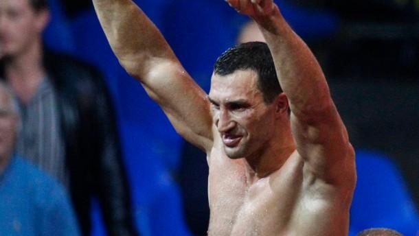 Klitschko nimmt den russischen Ritter auseinander