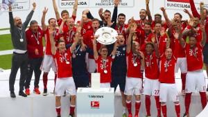 Münchner Titelparty mit Rekorden