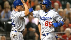 Yasiel Puig, Mark Ellis