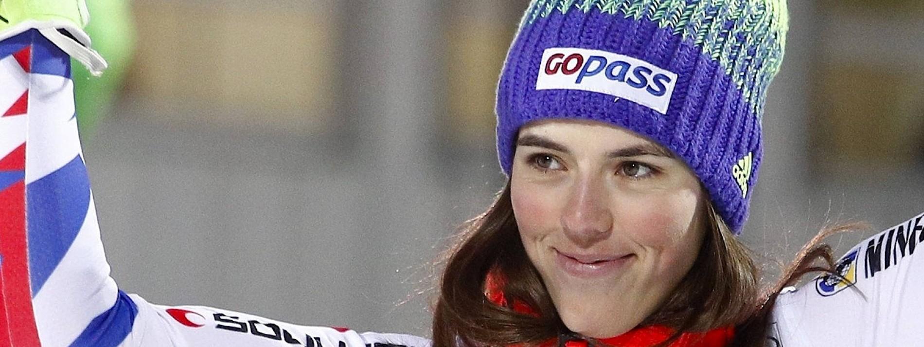 Die größte Herausforderin der Slalom-Königin