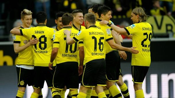 Dortmund bereit für Real