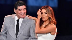 Maradonas Propaganda für die Mächtigen