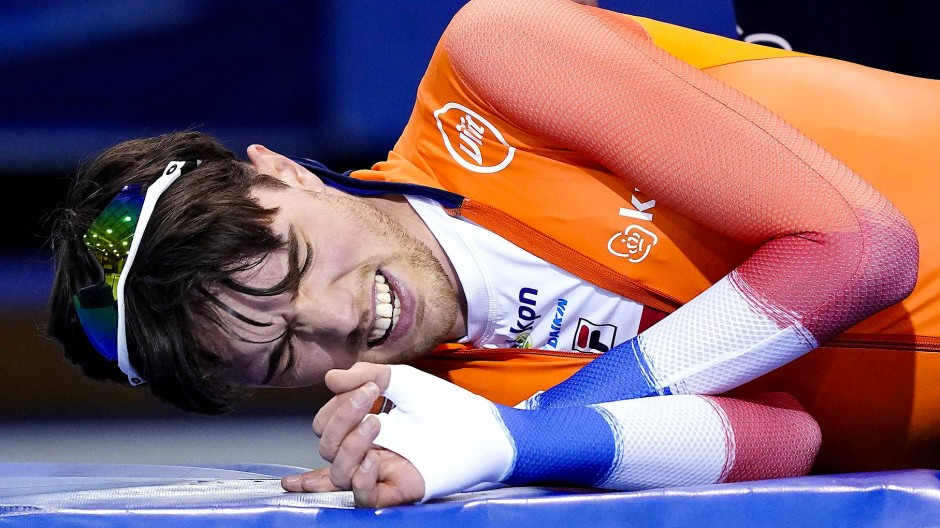 Favorit am Boden: Patrick Roest wurde in Salt Lake City disqualifiziert.