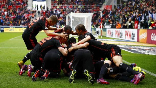 Kapriolen in der Bundesliga