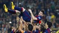 Messi bricht den Allzeit-Rekord