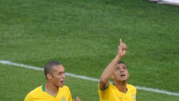 Brasilien nach 3:0-Erfolg praktisch im Halbfinale