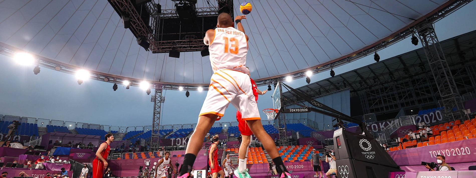 Ein neues Basketball-Spiel