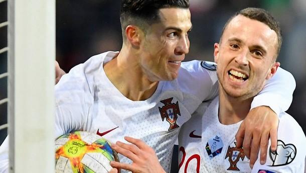 Auch Ronaldo und Portugal dürfen zur EM