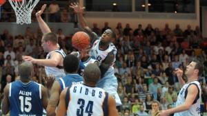 Skyliners verlieren erstes Halbfinale in Bremerhaven klar