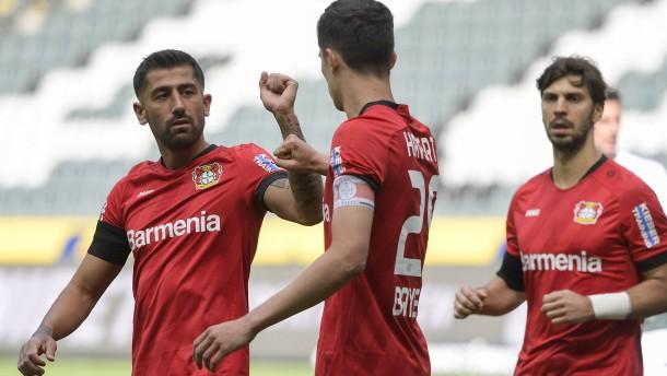 Bayer Leverkusen überflügelt die Borussia