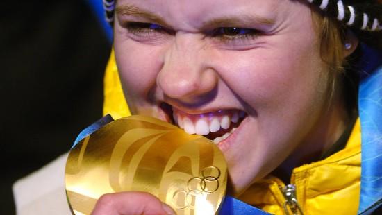 Viktoria Rebensburg will eine Medaille