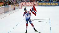 Wintersport kompakt: Norwegen siegt in Ruhpolding, Deutschland nur auf Platz vier