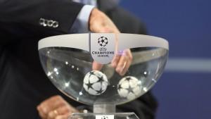 Nur die Bayern im Topf der Top-Teams