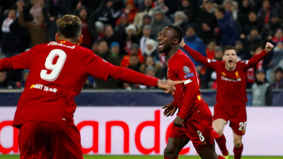 Türöffner: Naby Keita hat Liverpool in Salzburg ins Achtelfinale der Champions League geschossen.