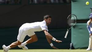 Djokovic scheitert am Außenseiter