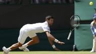Dass war's: Novak Djokovic stolpert in Runde drei