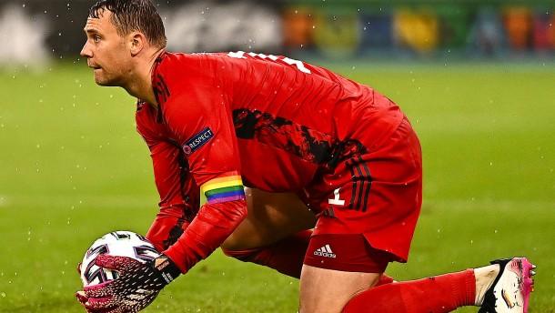 Deutschland wird vor England-Spiel niederknien