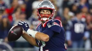 Brady mit spektakulärem Wurf zum Football-Meilenstein