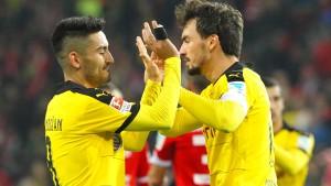 Dortmund gewinnt bei Tuchels Rückkehr