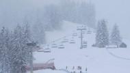 Schnee, Nebel und Chaos