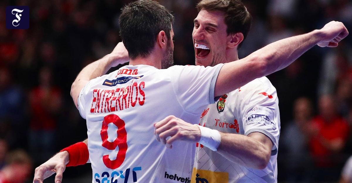 Handball-EM: Spanien kann mit Halbfinale planen