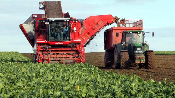 Die europäischen Bauern bekommen weiterhin viel Geld von der EU