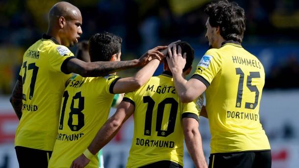 Schöne Dortmunder Grüße an Mourinho