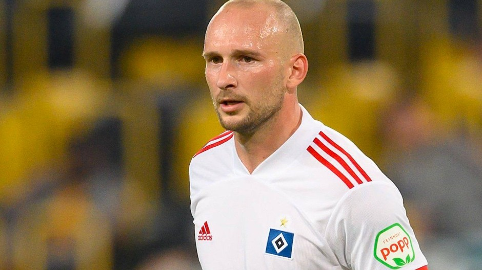 HSV-Spieler Toni Leistner wurde nach seiner Attacke auf einen Fan für fünf Spiele gesperrt.