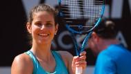 Abschied im Guten: Julia Görges hat den Schläger nach 15 Jahren auf der Tour aus der Hand gelegt – und seither nicht mehr angefasst.