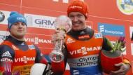 Weltcup-Gesamtsieger war er schon – nun holt Felix Loch auch EM-Bronze