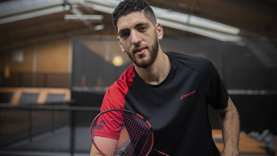 Endlich bei Olympia dabei: Badmintonspieler Mahmoud hat einen steinigen Weg voller Rückschläge hinter sich.