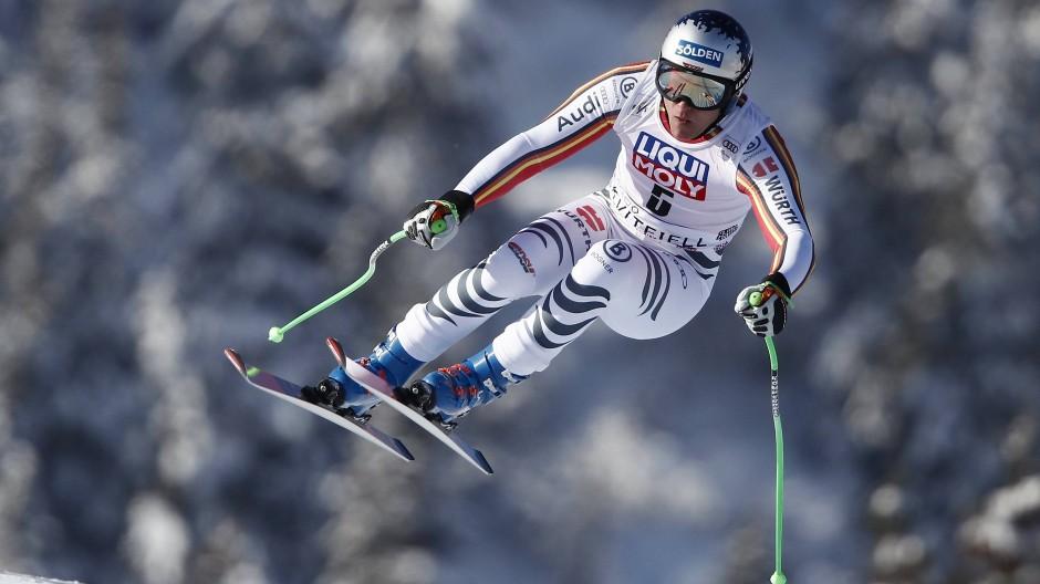 Bald will Thomas Dreßen auch wieder auf den Skipisten im Wettkampf unterwegs sein.