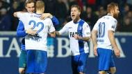 Endlich oben: Magdeburg ist erstmals seit der Wende in der zweiten Bundesliga