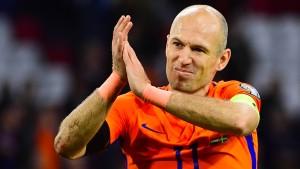 Der tränenreiche Abschied des Arjen Robben