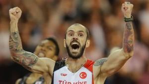 Eine Goldmedaille, die Erdogan stolz macht