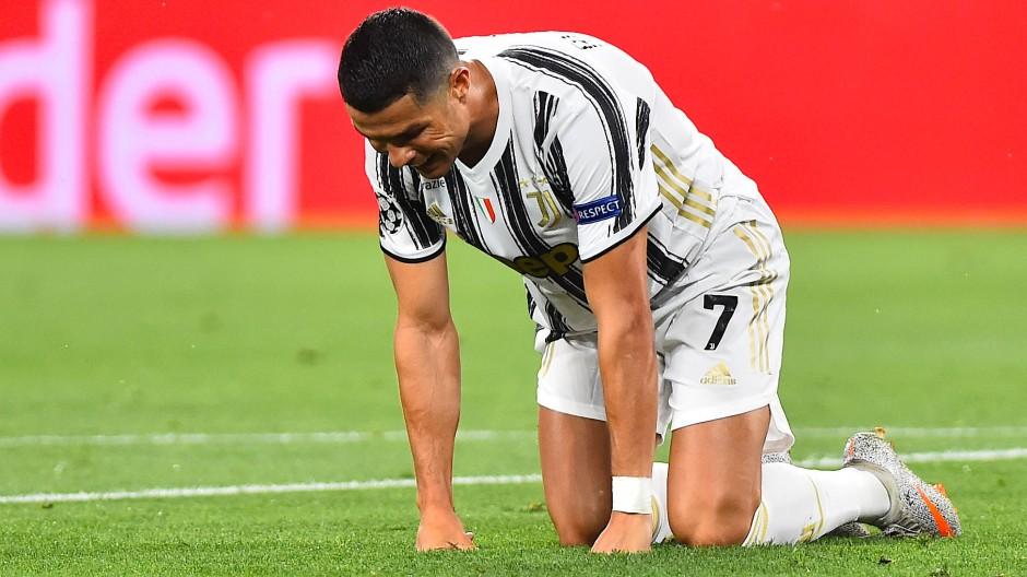 Olympique Lyon zwingt Cristiano Ronaldo und Juventus Turin in die Knie.