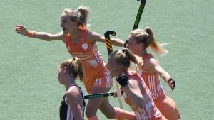 Auch deutsche Frauen verlieren Finale gegen Holland