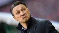 Drei Punkte in Köln? Eintracht-Trainer Niko Kovac.
