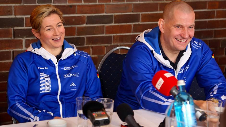 """""""Gutes Konzept"""": Matthias Große (rechts) soll DESG-Präsident werden."""