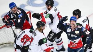 DEL-Playoffs ohne Meister Mannheim