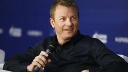 Beschwipster Räikkönen hat Spaß