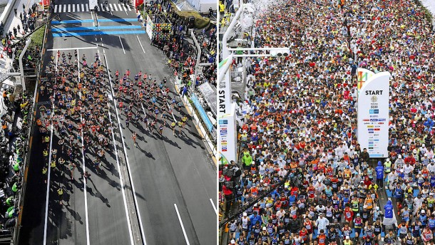 Mager-Marathon und Geister-Sumo