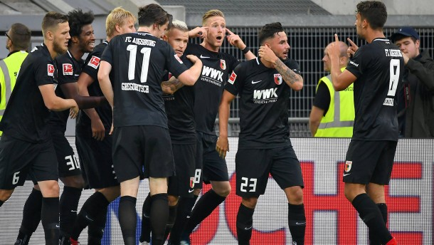 Augsburg trotzt dem mutigen Aufsteiger