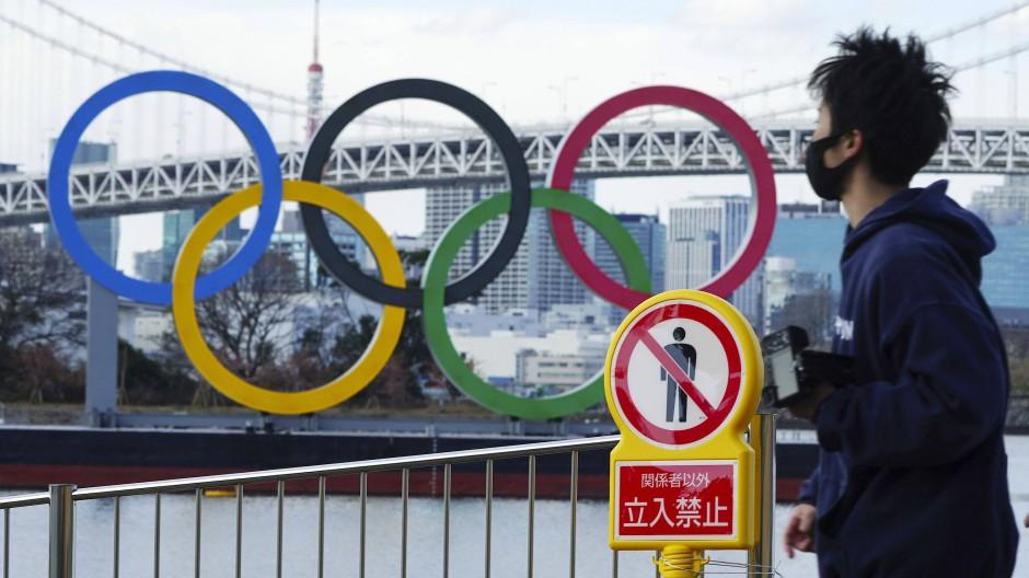 Olympia im Ausnahmezustand: Ob die Sommerspiele in Tokio überhaupt stattfinden können, ist noch nicht endgültig geklärt.