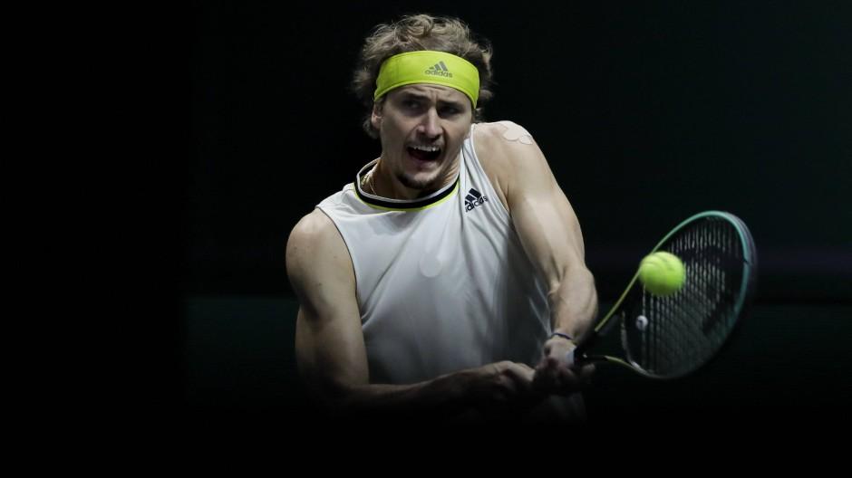 Schwacher Auftritt in Rotterdam: Alexander Zverev muss eine enttäuschende Erstrunden-Niederlage hinnehmen.