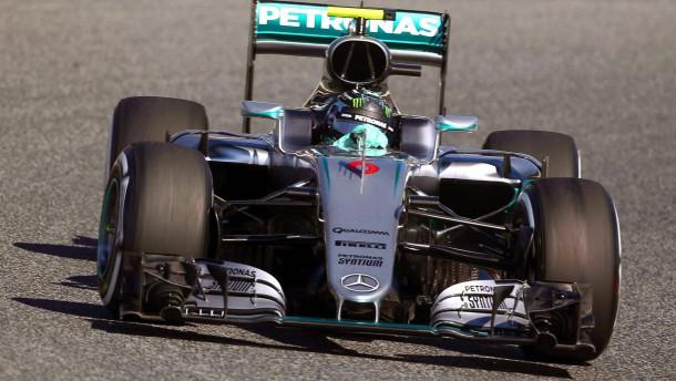 Rosberg wieder der Schnellste