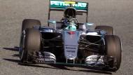 Keiner ist in Training in Barcelona schneller als Nico Rosberg.